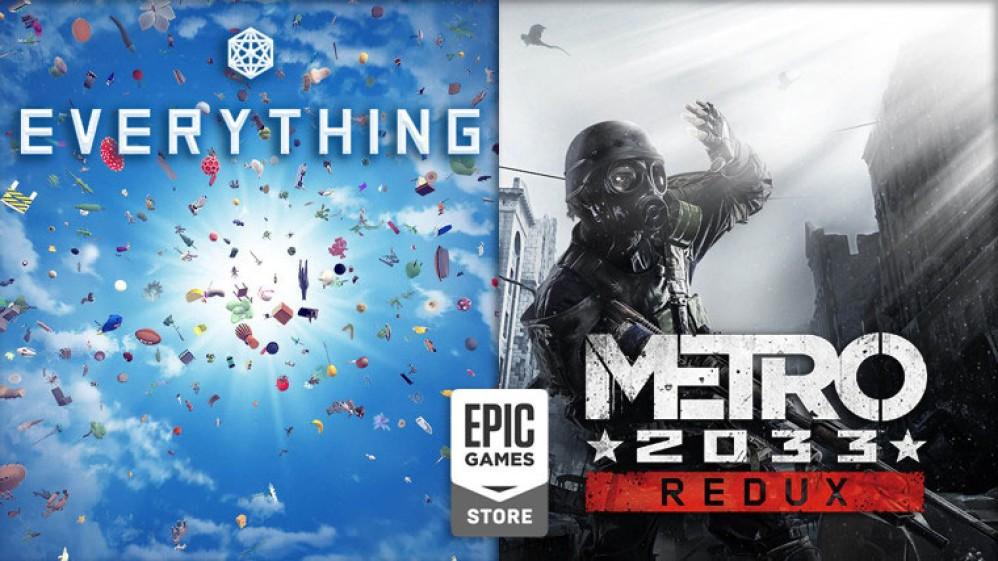 Metro 2033 Redux και Everything διαθέσιμα δωρεάν στο Epic Games Store!