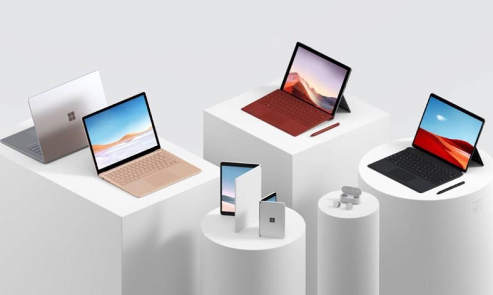 Αυτά είναι τα νέα Microsoft Surface Laptop 3, Surface Pro 7 και Surface Pro X
