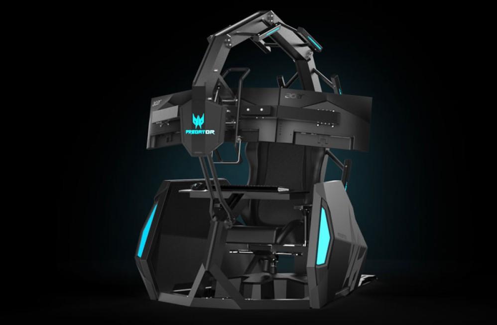 Predator Triton 500 με οθόνη 300Hz και η νέα gaming καρέκλα που σου κάνει μασάζ!