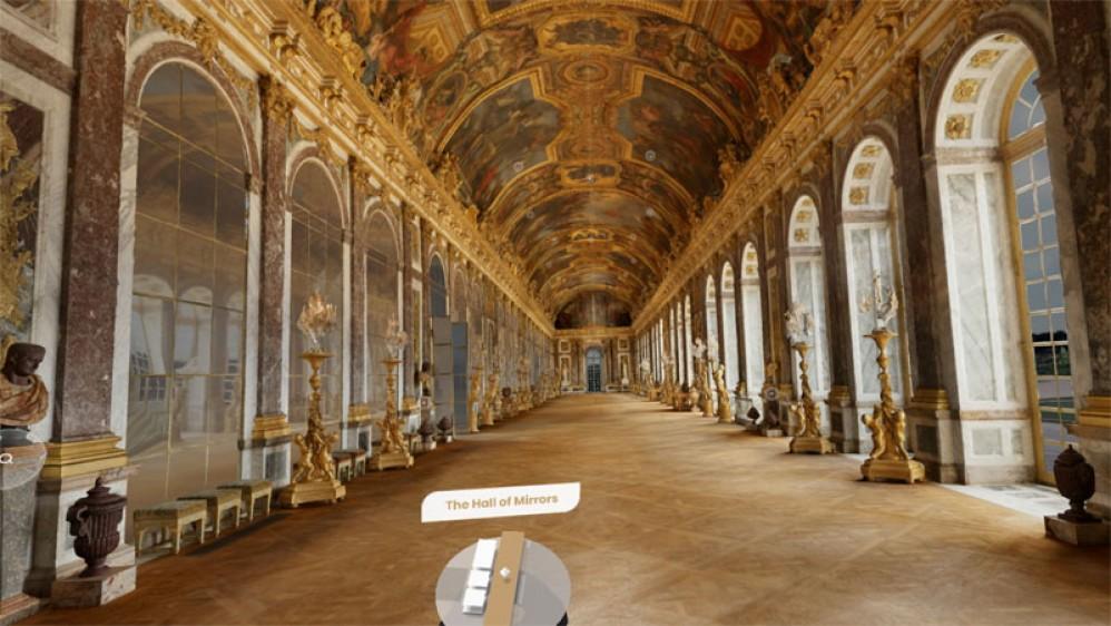 Google Arts & Culture: Εικονική περιήγηση και μέσα στις Βερσαλλίες