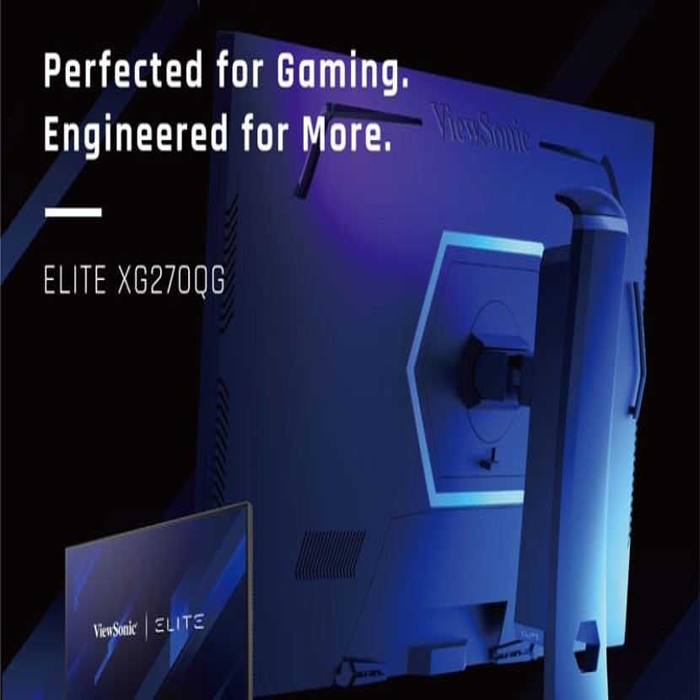 ViewSonic ELITE: Νέες gaming οθόνες με G-SYNC IPS Nano Colour panel και χρόνο απόκρισης 1ms