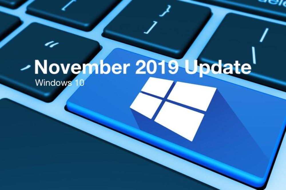 Windows 10 November 2019 Update: Επίσημο, έρχεται το Νοέμβριο για όλους