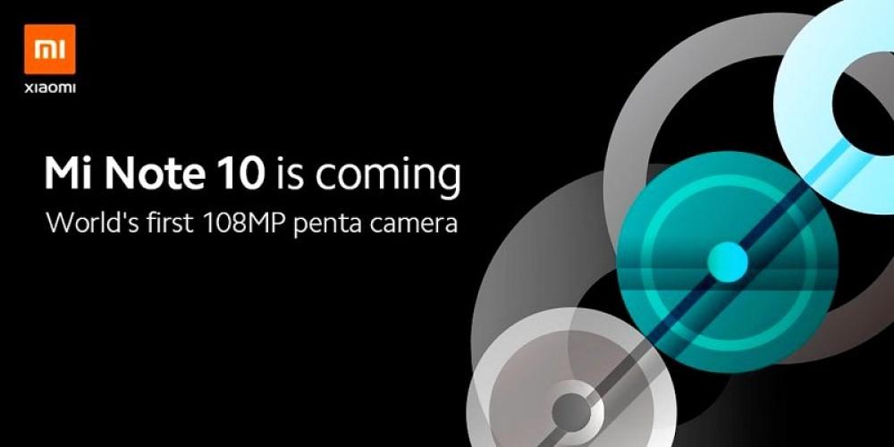 Xiaomi Mi Note 10: Αναβίωση για τη σειρά Mi Note με κύριο αισθητήρα 108MP