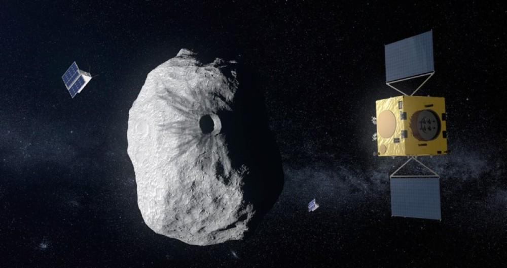 Hera: Η ESA έλαβε έγκριση για την αποστολή προστασίας της Γης από αστεροειδείς