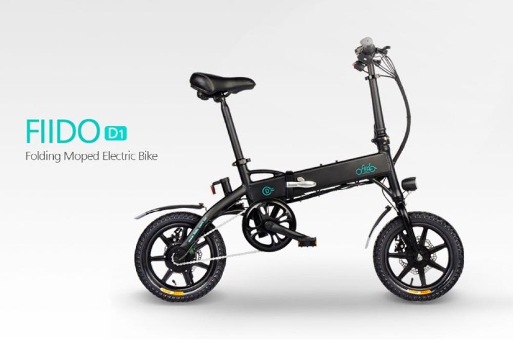 Fiido D1: Ηλεκτρικό ποδήλατο από Ευρωπαϊκή αποθήκη με δωρεάν αποστολή σε πολύ καλή τιμή