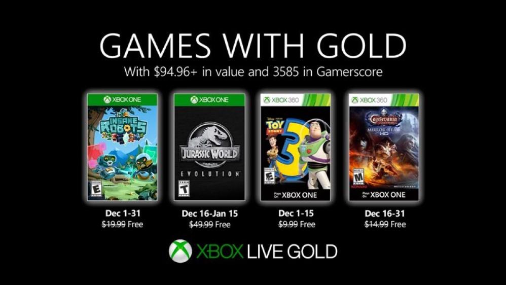 Αυτά είναι τα δωρεάν παιχνίδια των Xbox Live και Xbox Game Pass για το Δεκέμβριο