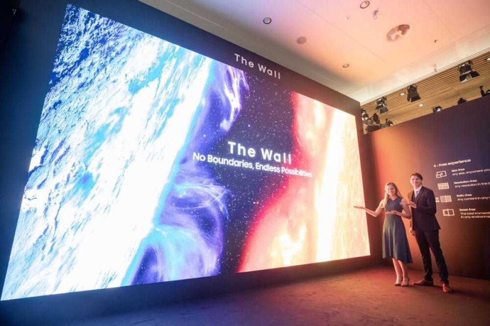 Νέες Samsung QLED 8K SMART, The Wall και Flip 2 στην ISE 2020