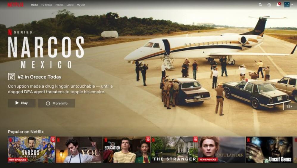 Netflix: Εμφανίζει πλέον Top 10 λίστες για κάθε χώρα!