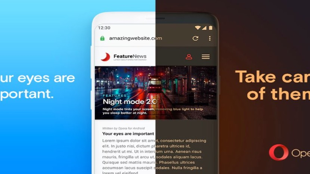 Δες όλες τις ιστοσελίδες σε dark mode στη νέα έκδοση του Opera browser για συσκευές Android