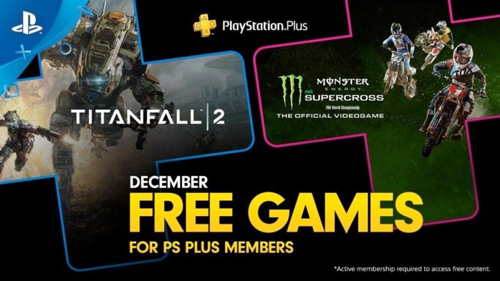 Titanfall 2 και Monster Energy Supercross τα δωρεάν παιχνίδια στο PS Plus για το Δεκέμβριο