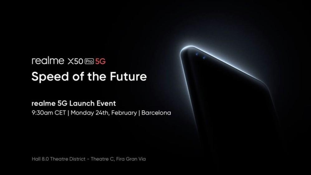 Realme X50 Pro 5G: Έρχεται στο MWC 2020 με πανίσχυρα specs και οθόνη 120Hz