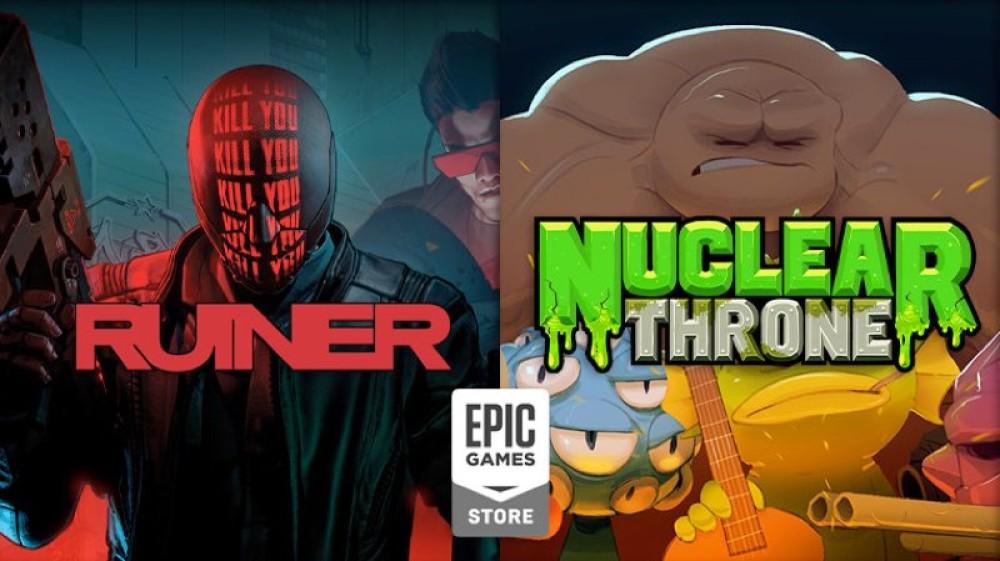 Τα RUINER και Nuclear Throne διαθέσιμα δωρεάν στο Epic Games Store