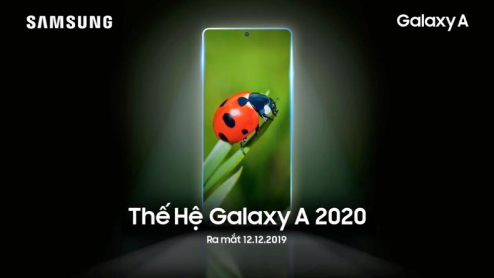 Samsung Galaxy A 2020: Το πρώτο μοντέλο αποκαλύπτεται στις 12 Δεκεμβρίου 2019