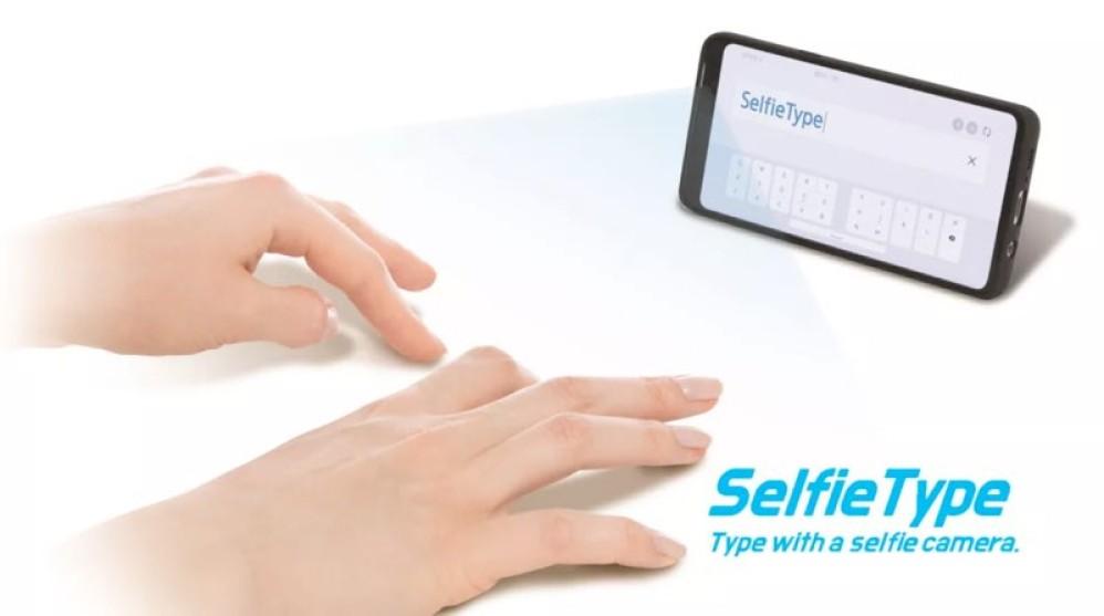Samsung SelfieType: Ένα αόρατο εικονικό πληκτρολόγιο [CES 2020]