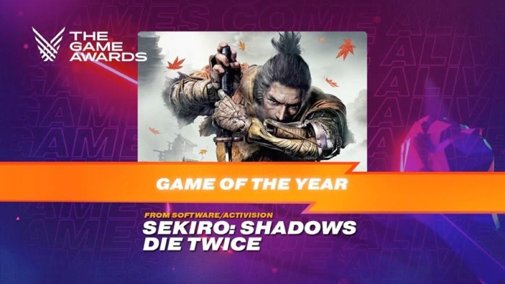 The Game Awards 2019: Παιχνίδι της χρονιάς το Sekiro: Shadows Die Twice! Δείτε όλους τους νικητές