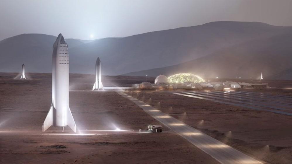 Elon Musk: Θα χρειαστούν 1000 Starships και τουλάχιστον 20 χρόνια για την αποικία στον πλανήτη Άρη