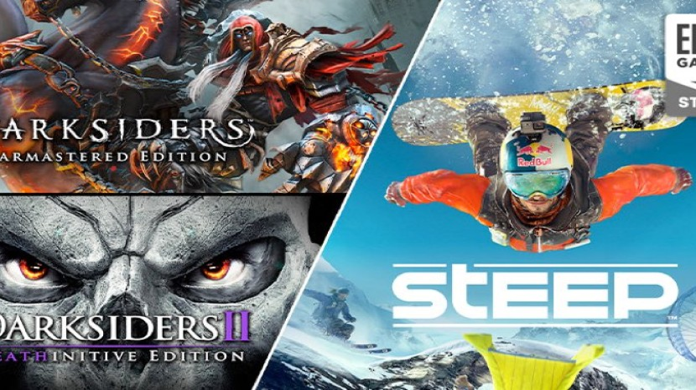 Darksiders 1, Darksiders 2 και Steep δωρεάν στο Epic Games Store!