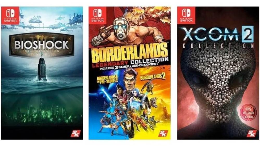 BioShock, Borderlands, XCOM κ.ά. έρχονται στο Nintendo Switch