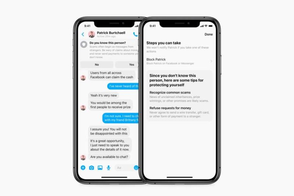 Facebook Messenger: Θα εμφανίζει προειδοποιήσεις για ψεύτικους χρήστες και απάτες