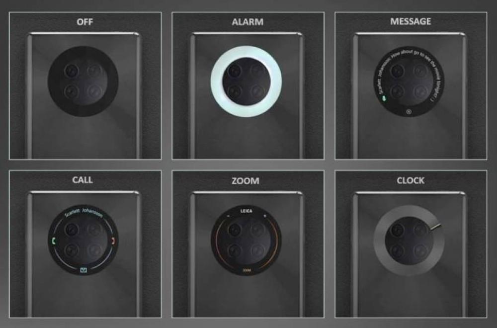 Ενδιαφέρουσα πατέντα για οθόνη αφής - camera ring από τη Huawei
