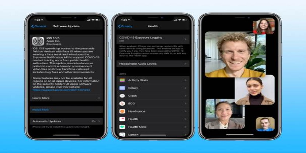 iOS 13.5: Διαθέσιμη η τελική έκδοση με το contact tracing API