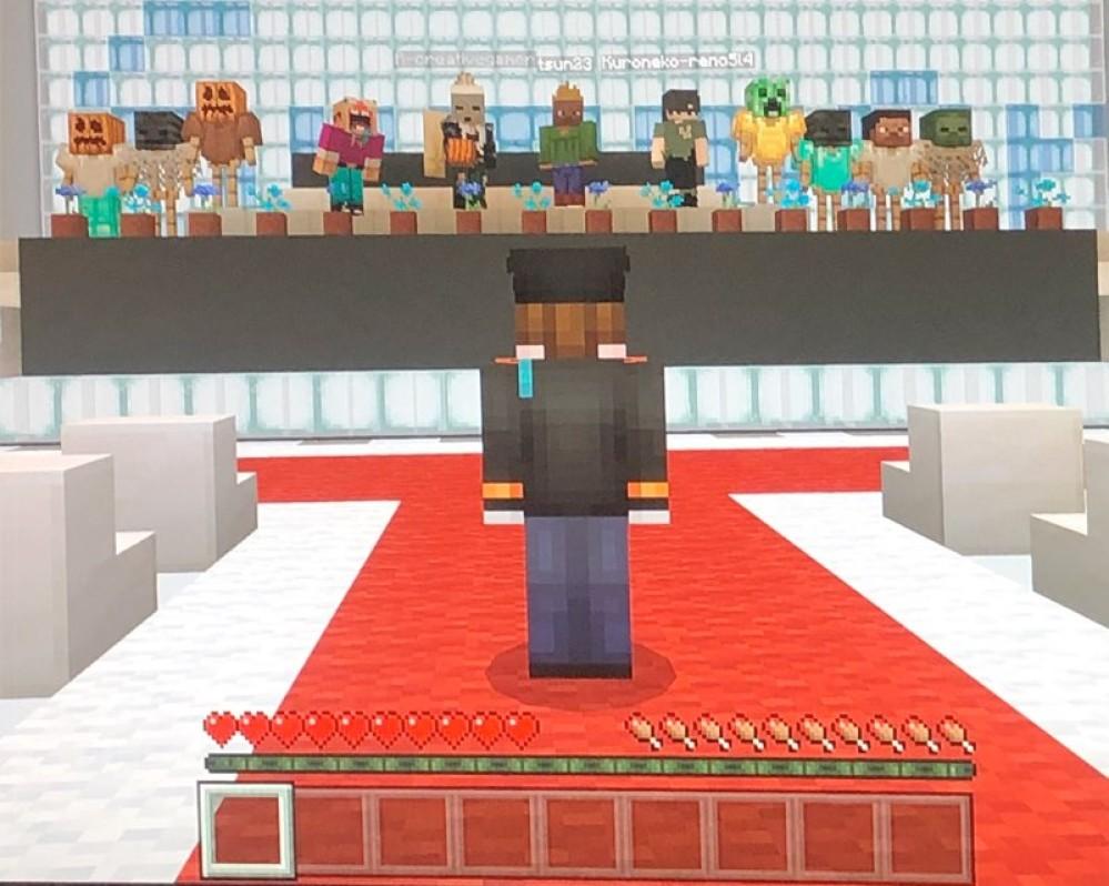 Τελετή αποφοίτησης μέσα από το Minecraft λόγω κορωνοϊού!