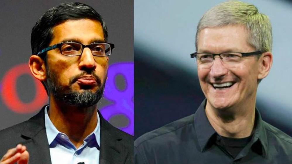 Ο CEO της Google εξέφρασε τη θέληση του για νέες συνεργασίες με την Apple