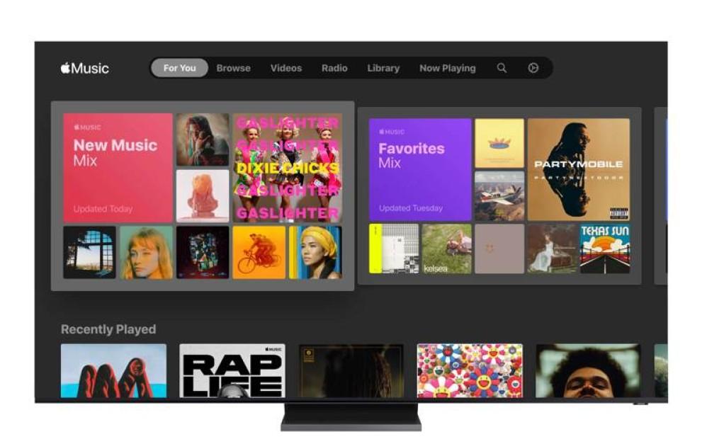 Το Apple Music διαθέσιμο από σήμερα στις Smart TVs της Samsung σε Ελλάδα και Κύπρο