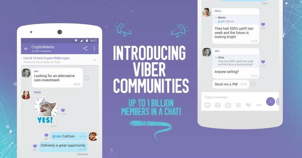 Πώς μπορείτε να χρησιμοποιήσετε τις Κοινότητες του Viber για διδασκαλία εξ αποστάσεως