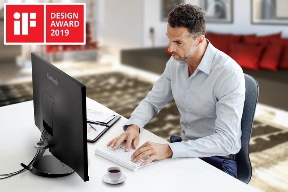 ViewSonic VX85: H βραβευμένη με iF Design Award σειρά οθονών