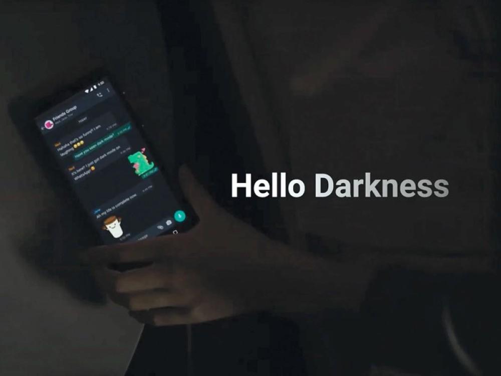 WhatsApp: Διαθέσιμο το dark mode για συσκευές Android και iOS