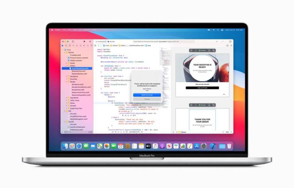 Ιστορική στιγμή: Macs με επεξεργαστές Apple Silicon από τα τέλη του 2020