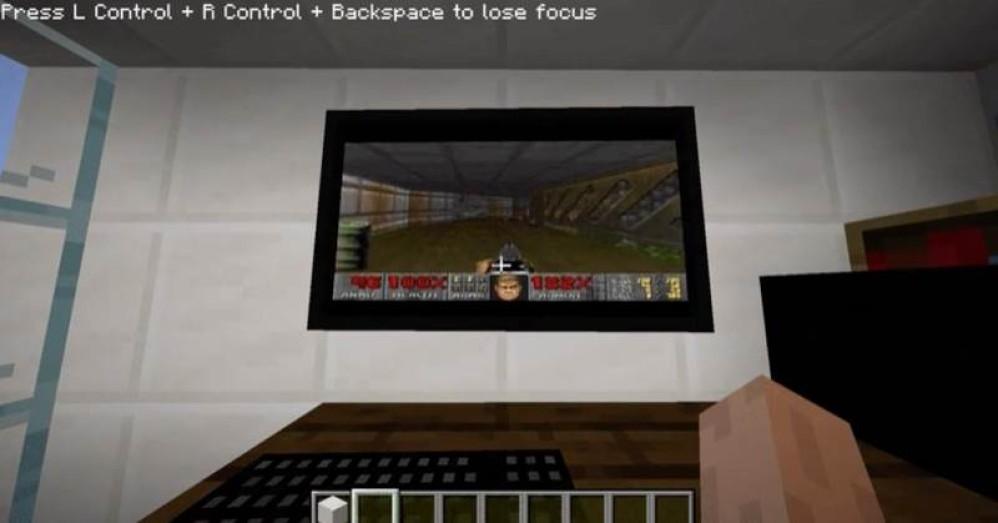 Έφτιαξαν Windows 95 PC μέσα στο Minecraft για να παίζεις...DOOM