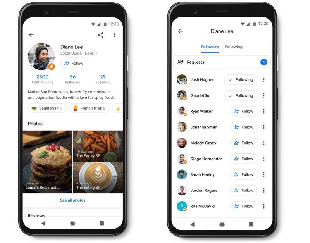 Google Maps: Πλέον μπορείς να κάνεις follow σε άλλους χρήστες