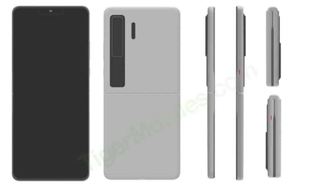Huawei Mate V: Το νέο αναδιπλούμενο με σχεδιασμό clamshell;