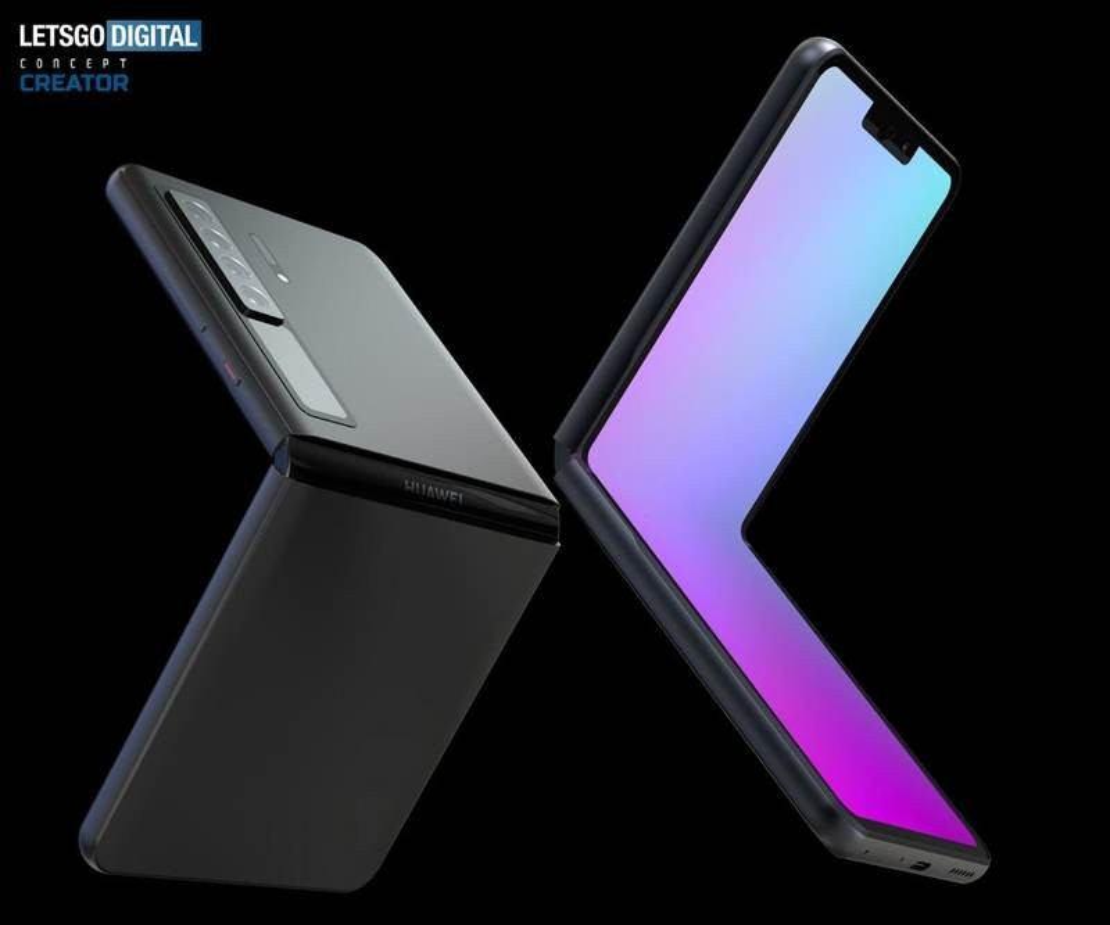 Huawei Mate V: Εντυπωσιακά concept CADs για το αναδιπλούμενο clamshell