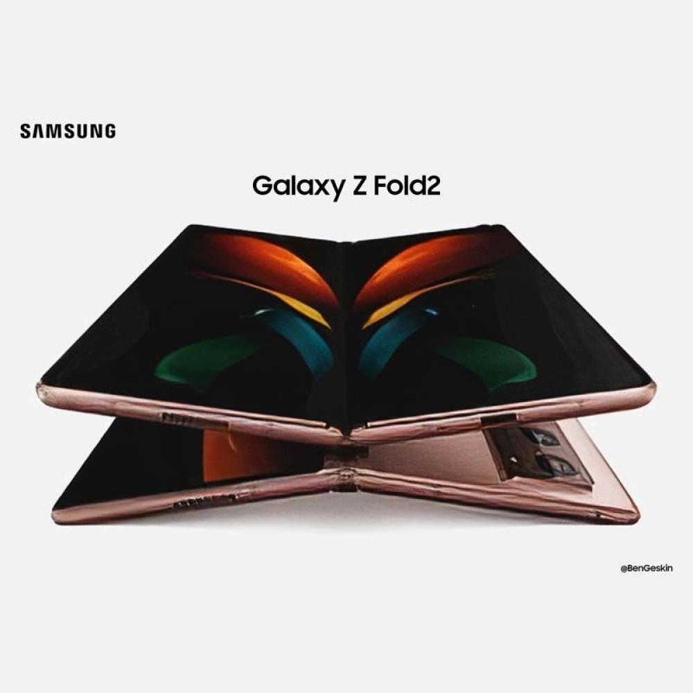Samsung Galaxy Z Fold 2: Δείτε το πρώτο επίσημο render