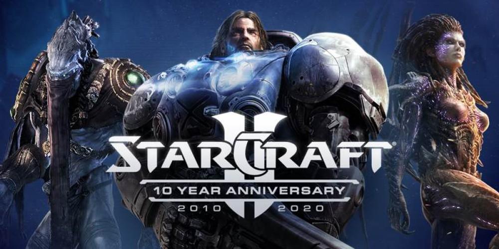 StarCraft II: Γιορτάζει 10 χρόνια ιστορίας με ένα μεγάλο update