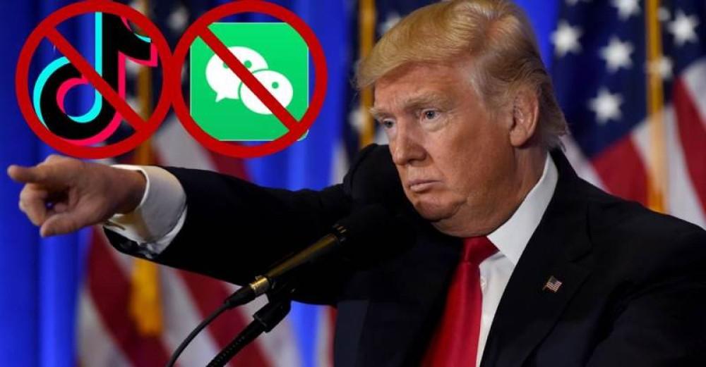Επίσημο: Ο Trump απαγορεύει τα TikTok και WeChat