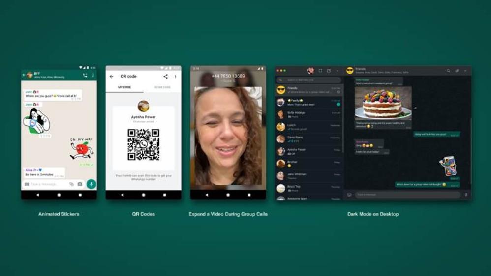WhatsApp: Dark mode στη desktop έκδοση και προσθήκες στη mobile