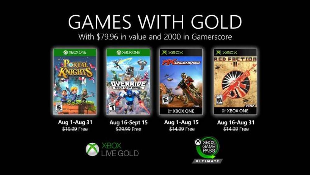 Αυτά είναι τα δωρεάν παιχνίδια που έρχονται τον Αύγουστο σε Xbox Live Gold και Xbox Game Pass Ultimate