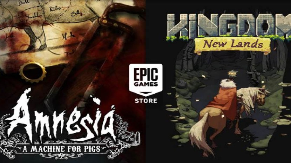 Amnesia: A Machine for Pigs και Kingdom New Lands δωρεάν στο Epic Games Store