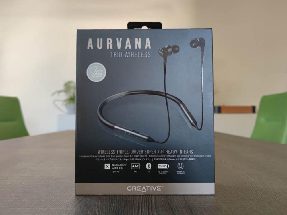 Aurvana Trio Wireless: Πολυτελής κατασκευή, τρομερός ήχος με τεχνολογία SXFI [Review]