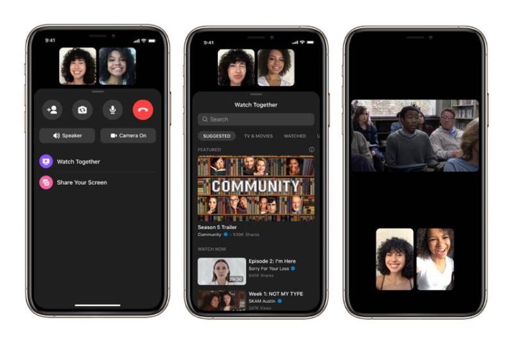 Watch Together: Νέα λειτουργία για ταυτόχρονη παρακολούθηση videos στο Facebook Messenger