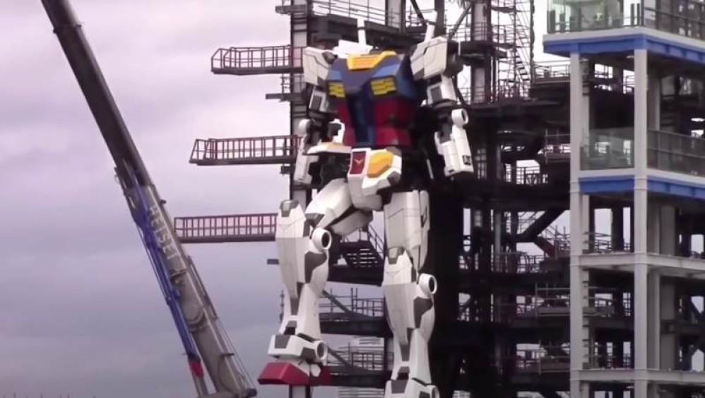 Gundam Robot: Το γιγαντιαίο ρομπότ με ύψος 18m...κινείται! [Video]