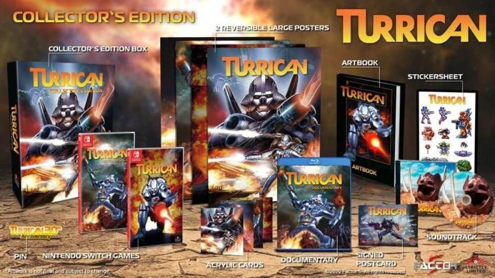 Turrican Anthology: Ανακοινώθηκε το πακέτο με όλα τα παιχνίδια του θρυλικού shooter!