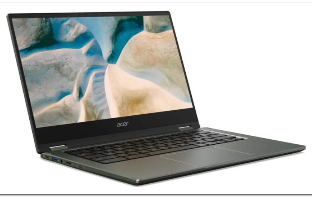Acer Chromebook Spin 514:  Το πρώτο Chromebook στον κόσμο με AMD Ryzen [CES 2021]