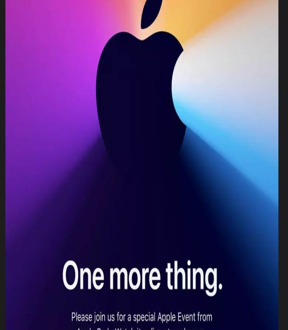 Apple: Νέο event στις 10 Νοεμβρίου για τα πρώτα ARM-based Mac!