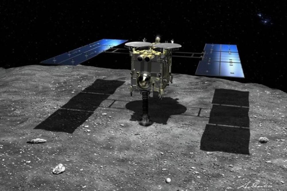 JAXA: Πρώτες εικόνες από τα δείγματα που συνέλεξε το Hayabusa2 από τον αστεροειδή Ryugu