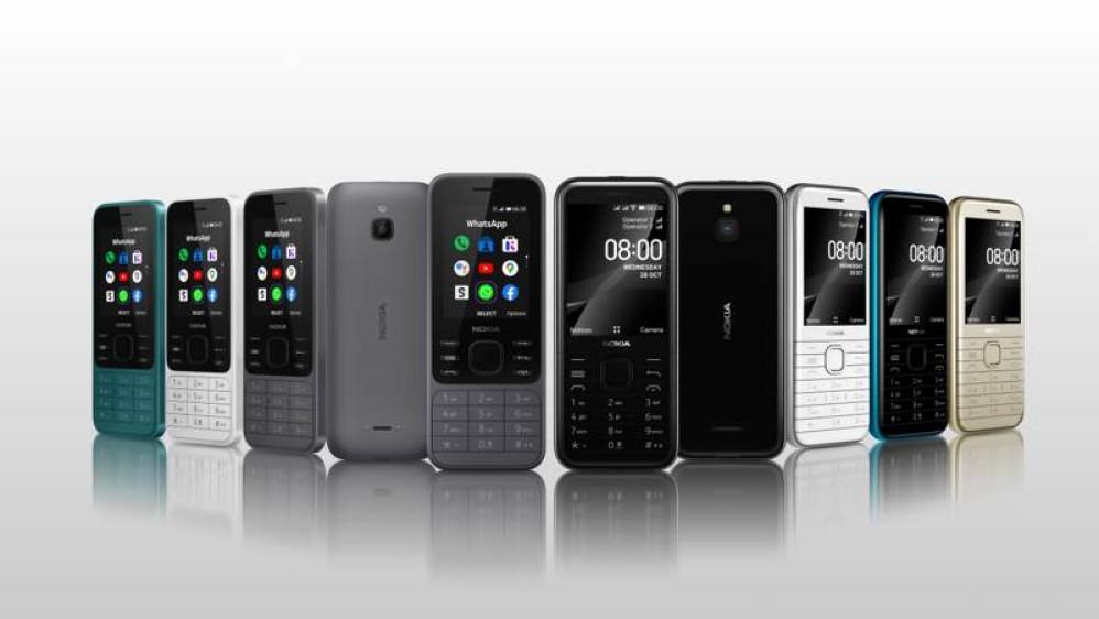Nokia 6300 4G και Nokia 8000 4G: Τα νέα feature phones με Google Assistant